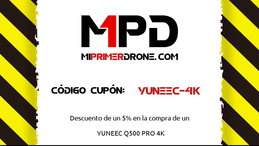 CUPON descuento yuneec Q500 PRO