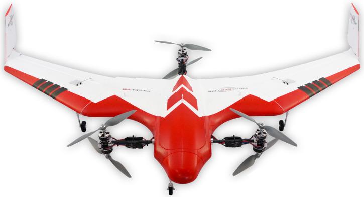 Drone tipo VTOL