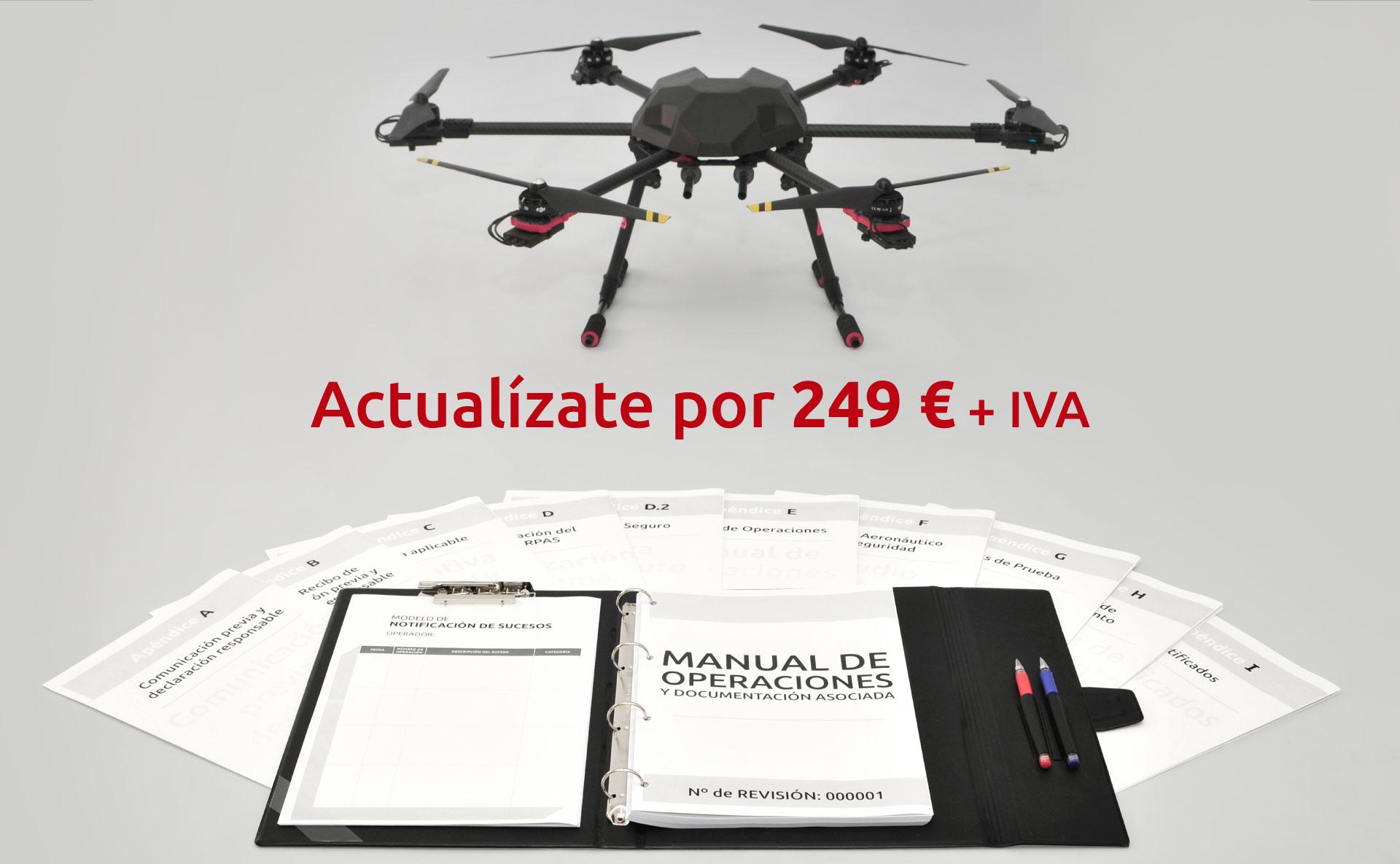 Actualizate por 249€ + IVA