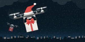 drone santa